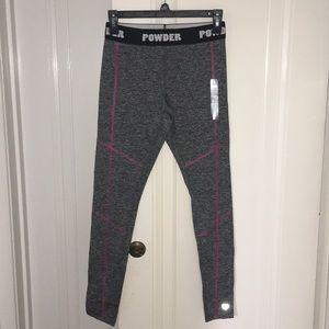 Adorable grey leggings